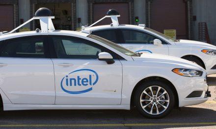 Intel unveils its new fleet of self-driving cars
