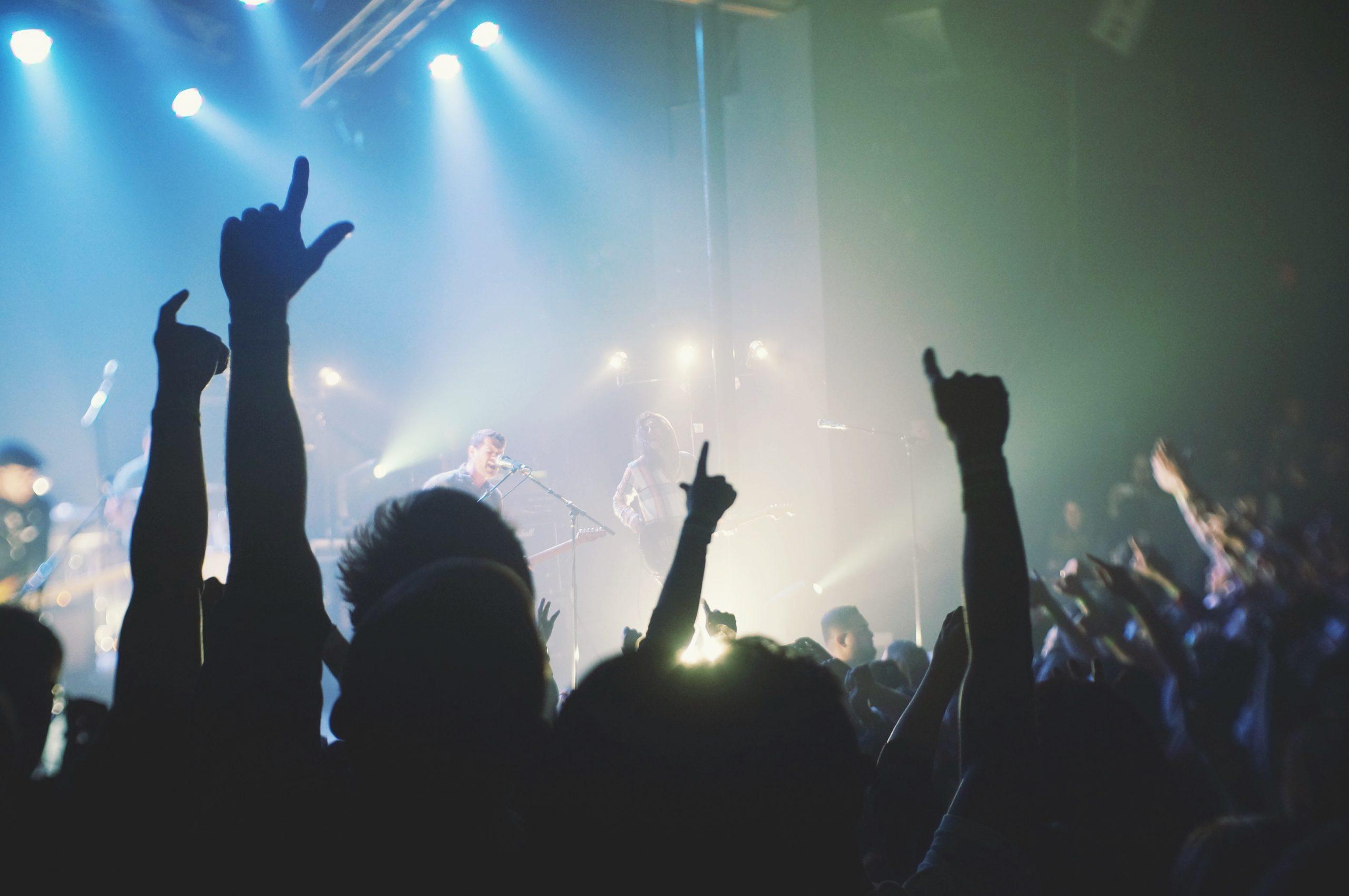 live concert, concert, stage