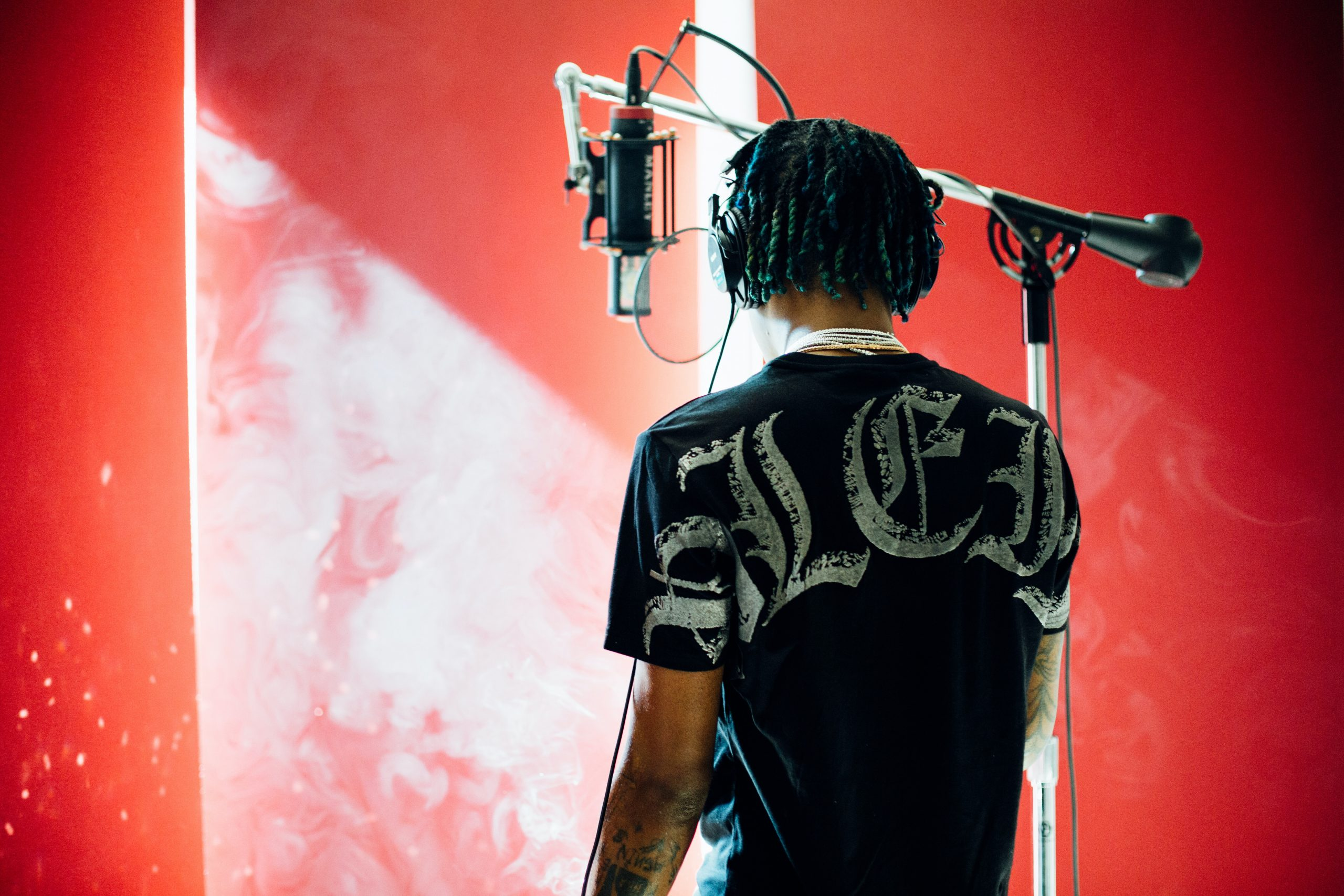 Rich the kid in the studio aka scott storch's place