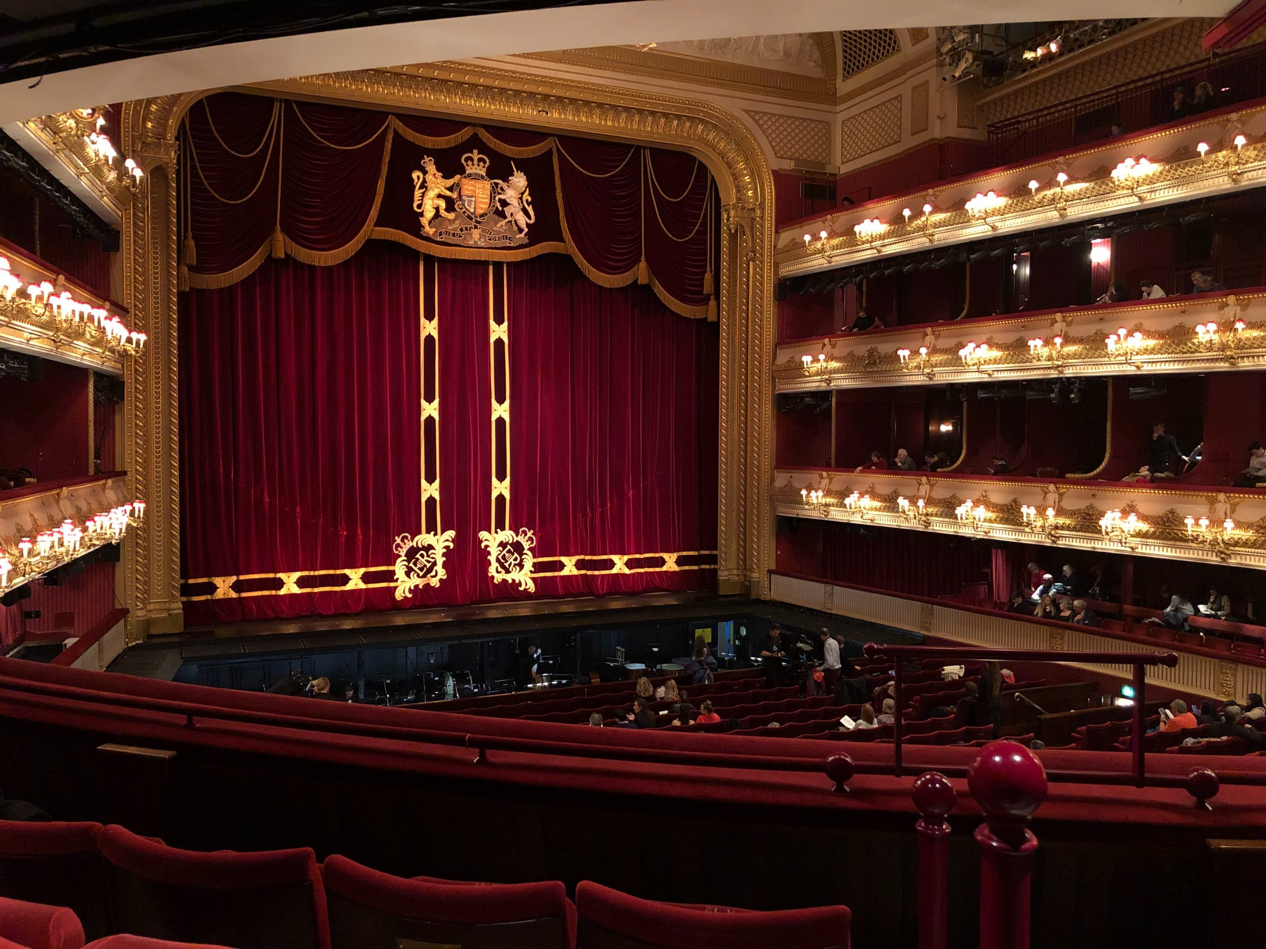 Royal Opera House, London, stage