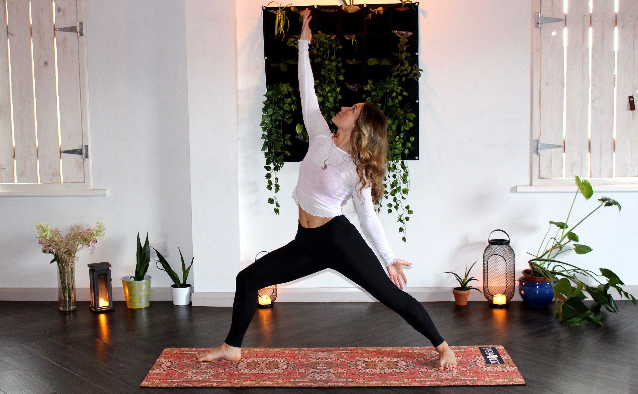 Yoga in Yoga Studio on a Zen Bear Yoga Mat