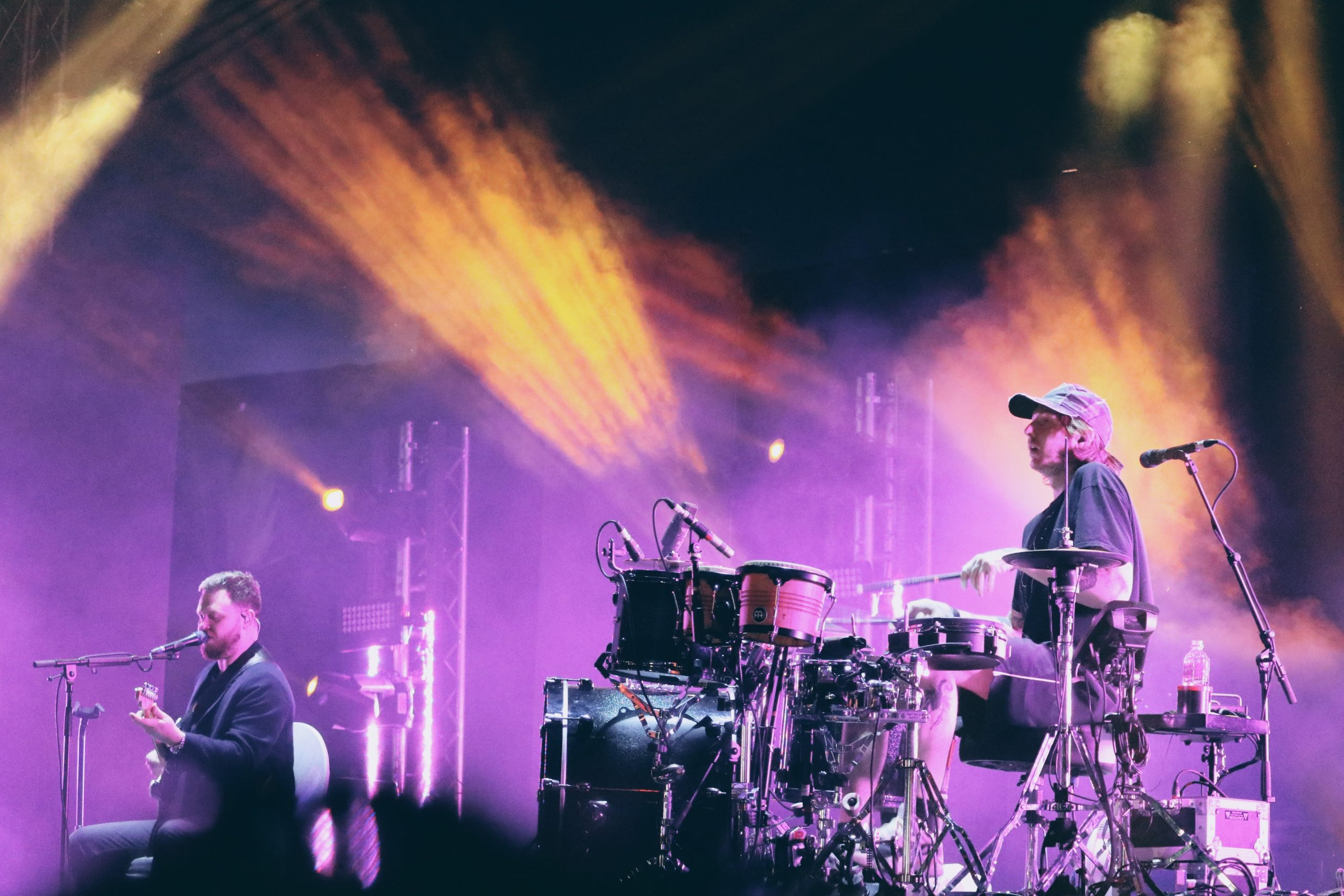 alt-J performing at VH1 Supersonic, Pune. Feb 2018.