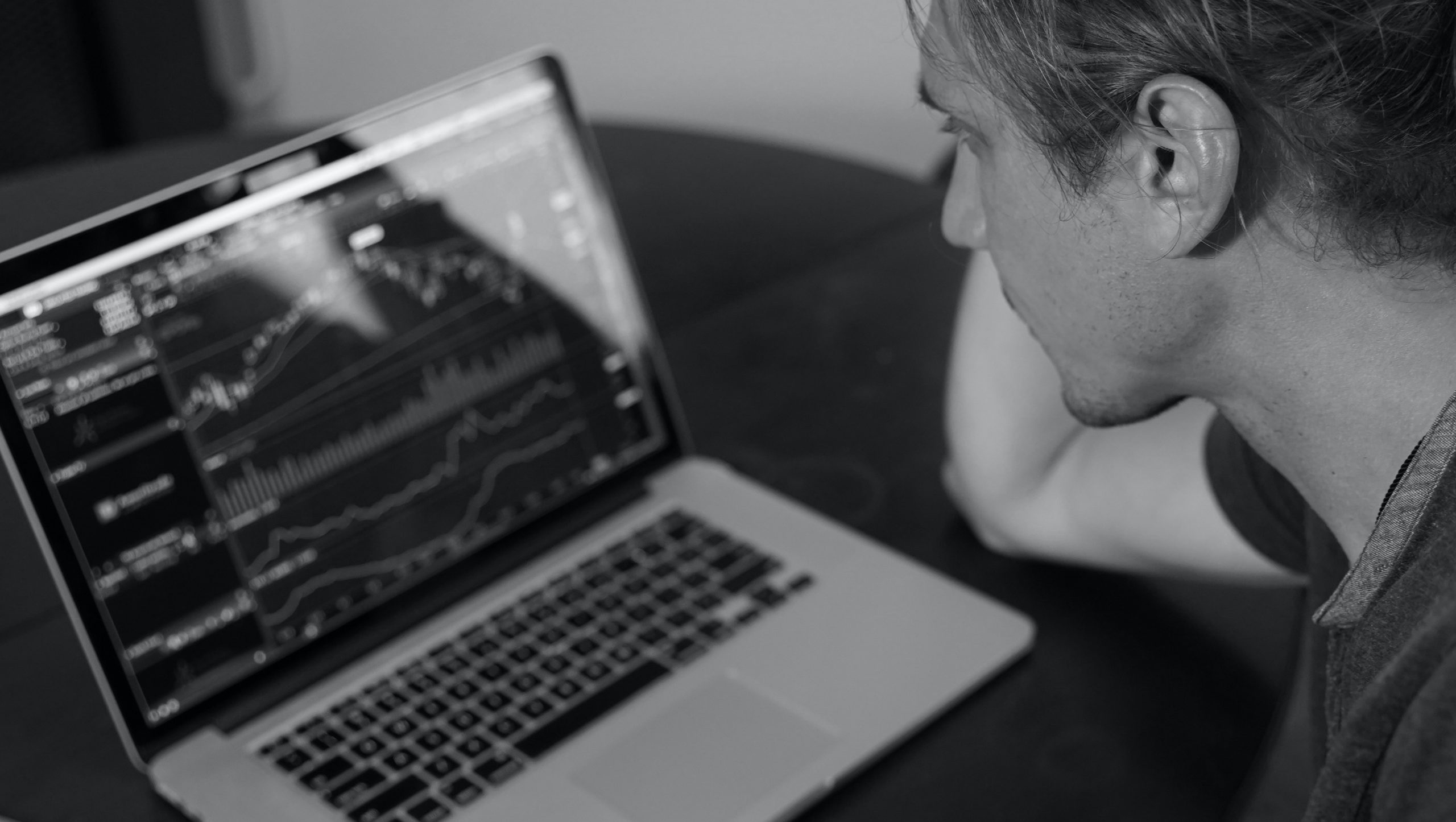 Focused on the price charts