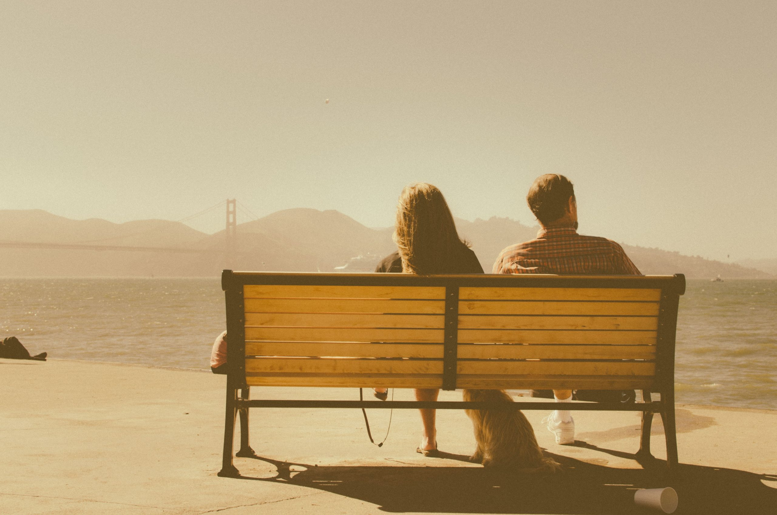 San Francisco bench