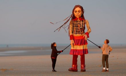 The Dramatic Journey of Amal, a Puppet Refugee, Through Love and Terror
